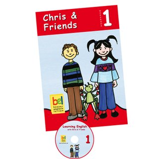 Chris & Friends 1- Workbook with CD and Download Code