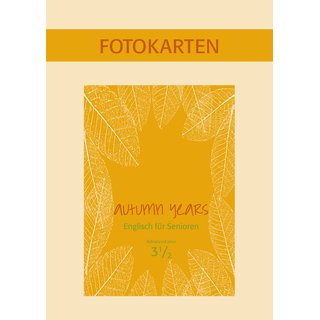 Autumn Years 3.5 - Fotokartenbuch zu Coursebook advanced  plus