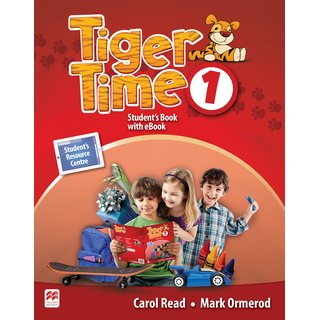 Tiger Time 1 Students Book with eBook