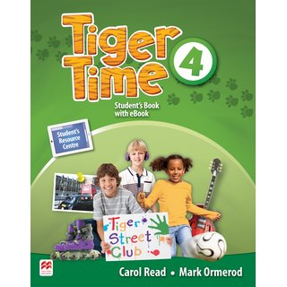 Tiger Time 4 Students Book with eBook
