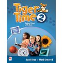 Tiger Time 2 Students Book with eBook