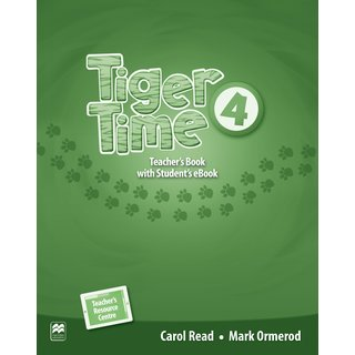 Tiger Time 4 Teachers Book with Students eBook