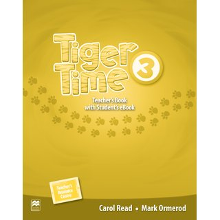 Tiger Time 3 Teachers Book with Students eBook