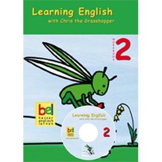 Chris the Grasshopper 2 - Workbook with CD and Download Code