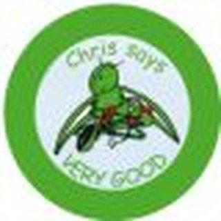 Chris the Grasshopper Motivation Sticker, 50 Stück