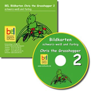 Chris the Grasshopper 2 - Bildkarten-CD
