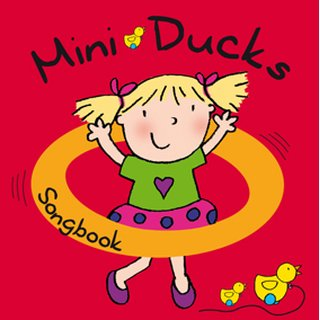 Mini Ducks Songbook with 2 CDs