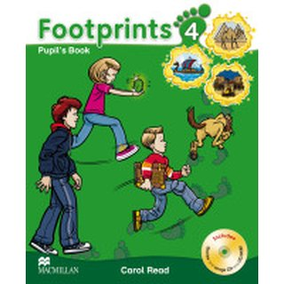 Footprints 4 Pupils Book Package mit CD, CD-Rom und Portfolio