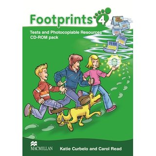 Footprints 4 - CD-ROM with Photocopiables